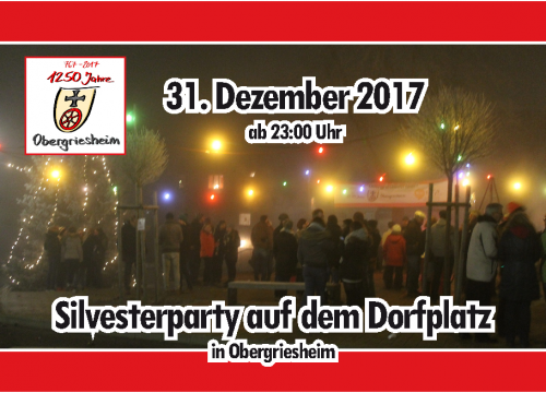 Silvesterparty 2017